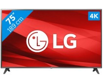 LG 75UM7110PLB 4K Ultra HD Smart webOS LED TV