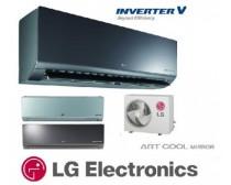 LG A12RK ART COOL MIRROR INVERTERES KLÍMA 3,5 KW-OS
