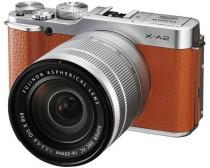 Fujifilm FinePix X-A2 + 16-50mm II Digitális fényképezőgép barna