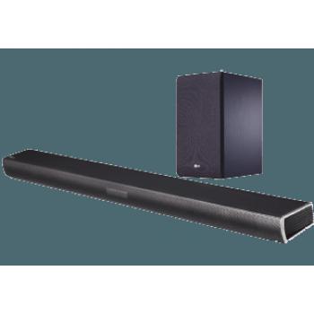 LG SJ4 2.1 hangprojektor, 320 W, Vezeték nélküli mélynyomó, Bluetooth 4.0, USB, 4K hangminőség