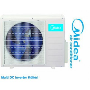 MIDEA M2OE-14HFN1-Q Multi DC inverter kültéri, max. 2 beltéri egységhez 4.1 kW