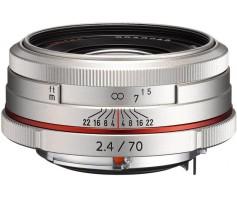 Pentax HD DA 70mm f/2.4 AL Limited ezüst objektív