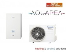 Panasonic WH-UD09HE5  WH-SDC09H3E5 Aquarea H 1 fázisút levegő-víz hőszivattyú Hűtő-Fűtő 9 kW
