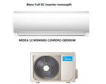 Midea MSMABU-12HRDN1-QRD0GW BlancFullDCInvertermonosplit 3.5KW