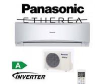 Panasonic CS-XE12QKEW / CU-E12QKE Etherea Ezüst Inverteres Split klíma 3, 5Kw
