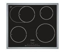 Bosch PIB645F17E 4 indukciós főzőlap, nemesacél szegéllyel