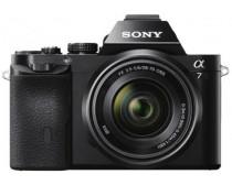 Sony Alpha 7K fekete digitális fényképezőgép váz + 28-70mm objektív