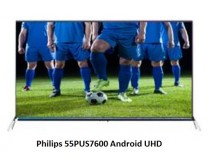 PHILIPS 55PUS7600/12 UHD Android Smart 3D LED Ambilight televízió
