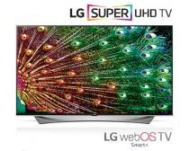 LG 55UF950V 4K UltraHD 3D  WEBOS 2.0 Smart IPS LED televízió 2300Hz