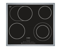 Bosch PKN645F17E beépíthető elektromos üvegkerámia főzőlap fekete