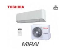 Toshiba RAS-13BKV-E/RAS-13BAV-E  Mirai, Oldalfali klíma szett, 3, 1kW
