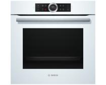 Bosch HBG6750W1 Serie 8 13 funkció pirolítikus öntisztítás TFT kijelző beépíthető sütő fehér